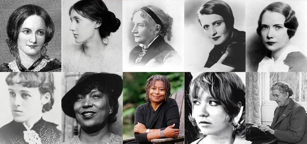 Most Popular Female Writers-min